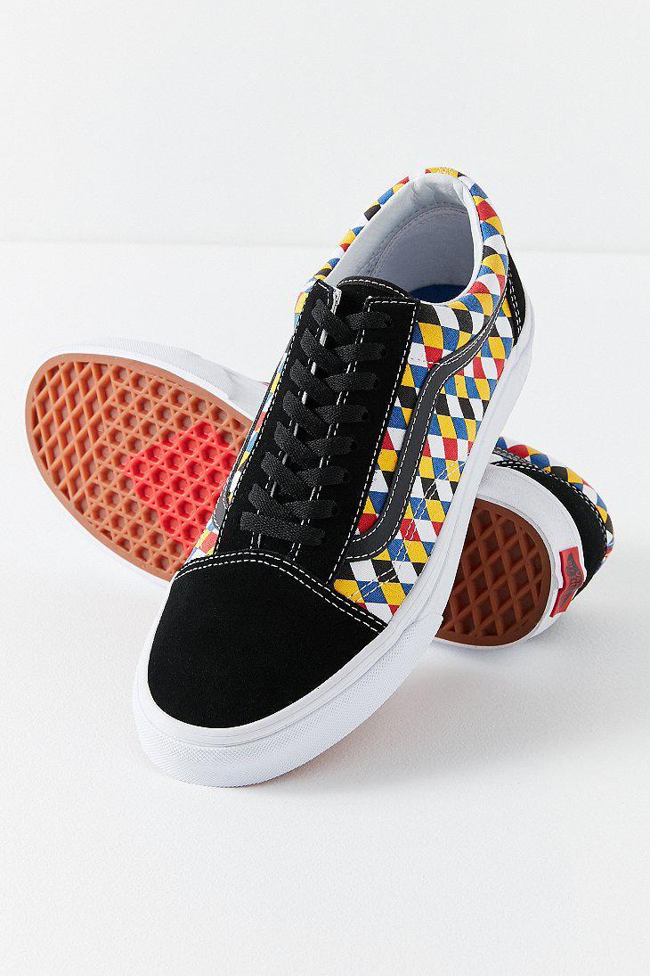 a17da2f390a Lyst - Vans Vans X Uo Old Skool Playing Card Sneaker in Black