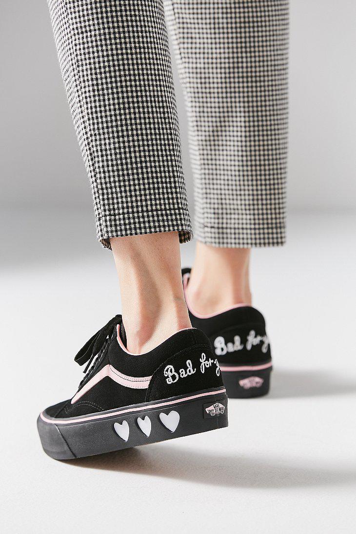 Lazy Oaf Old Skool Platform Sneaker