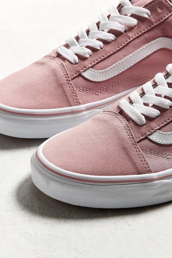 Lyst - Vans Old Skool Sneaker in Pink 0fb655aae
