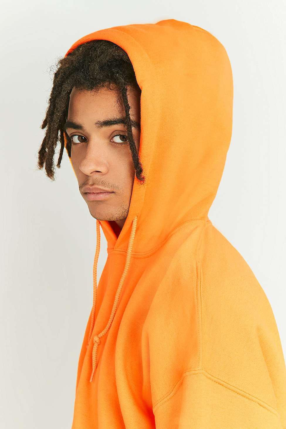 Urban Outfitters Uo Yellow Oversized Hoodie - Mens L in Yellow for ... c17bbe3a9