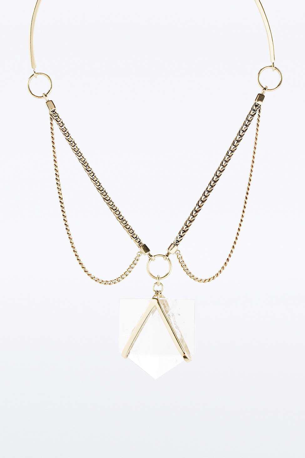 Maniamania Nova Necklace in Gold (Metallic)