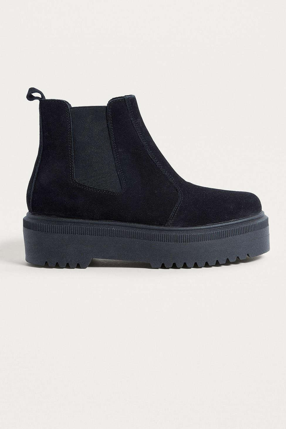 Urban Outfitters Uo Brody Black Suede