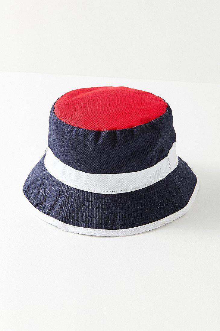 Lyst - Fila Fila Heritage Unisex Bucket Hat in Blue b03e91418baa