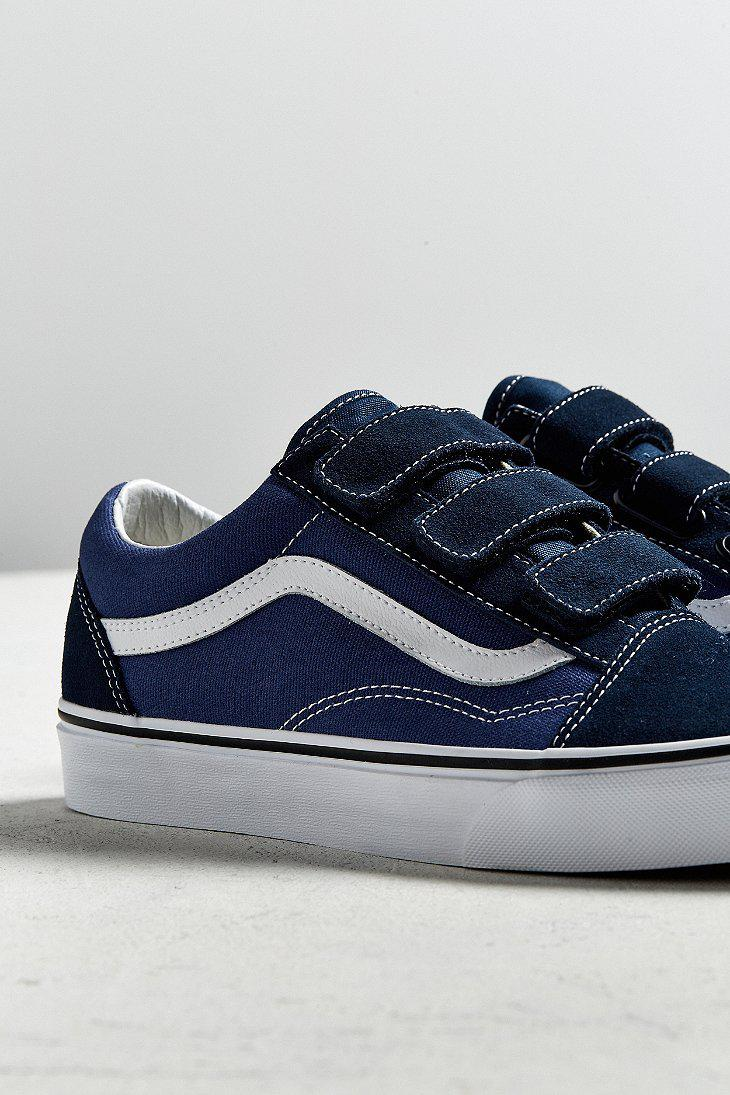 Blue Vans With Straps Sale Online, UP TO 61% OFF