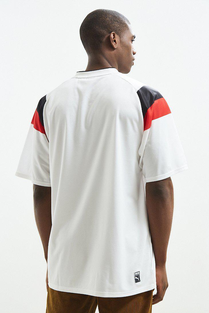 a533f0d560c Heritage Football Tee Puma White Puma Shirts & Hemden