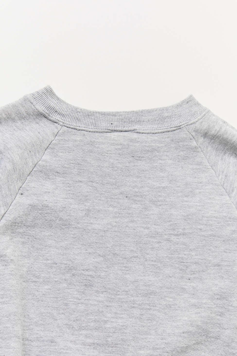 Vintage Grey Mickey Mouse Crew neck Sweatshirt