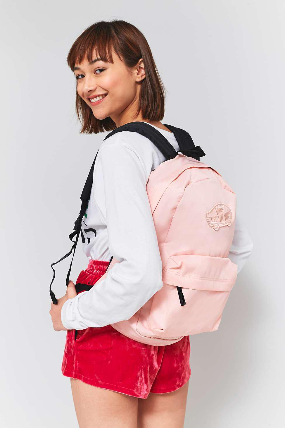 Vans Canvas Realm Pink Blossom Backpack