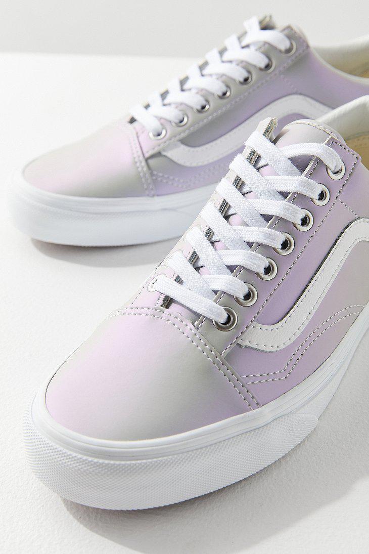 fb5ed9be2a Lyst - Vans Vans Iridescent Old Skool Sneaker