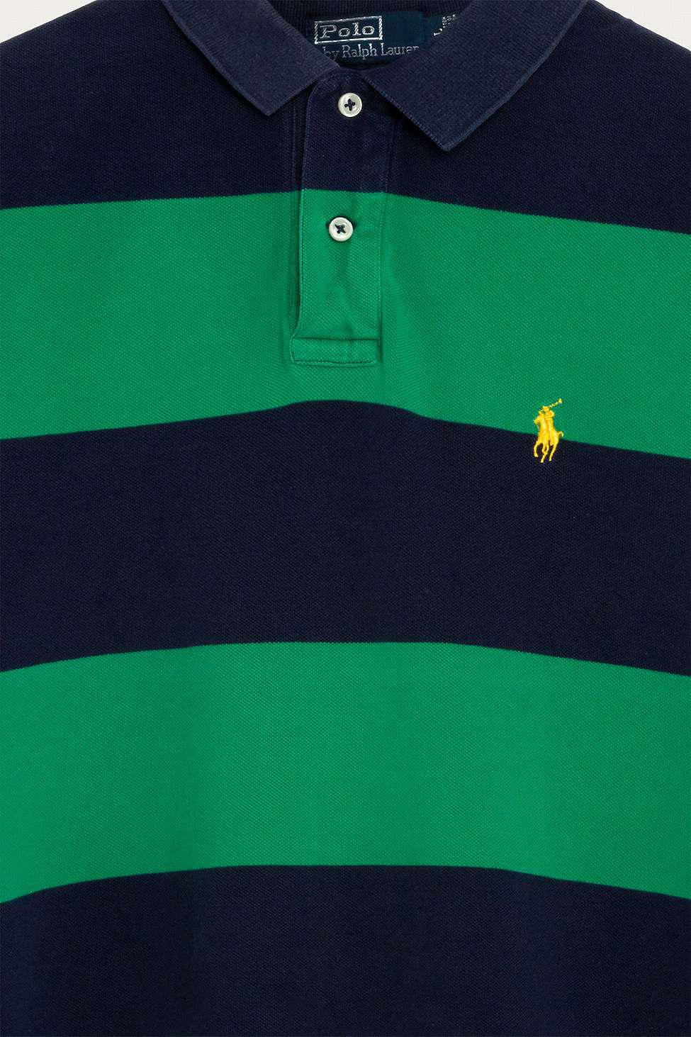4ee673ce Urban Renewal Vintage One-of-a-kind Ralph Lauren Green And Blue ...