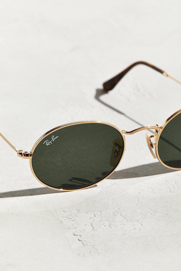 e1276f09e7ac9 Ray-Ban Metallic Ray-ban Oval Sunglasses for men