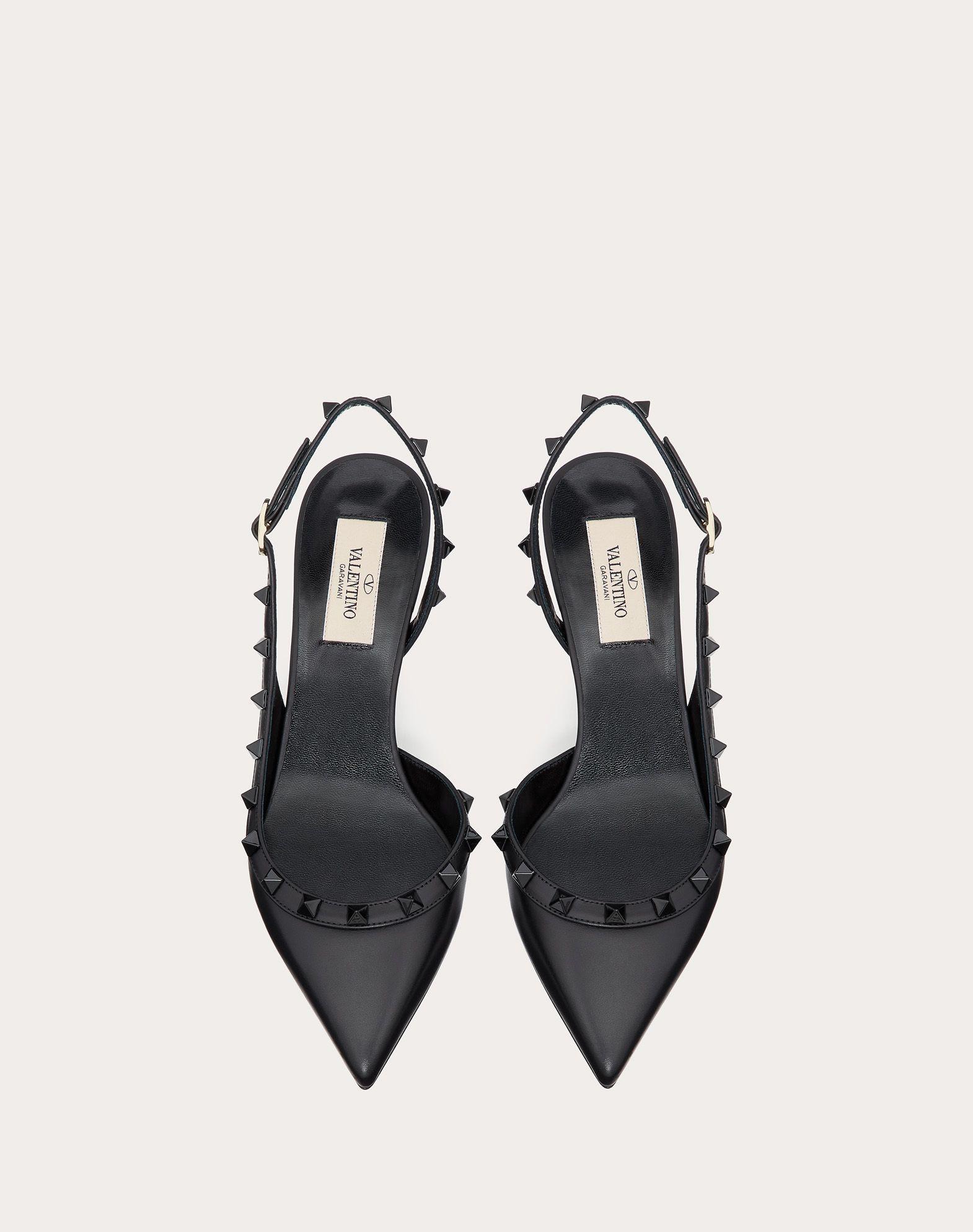 Valentino Rockstud Calfskin Leather