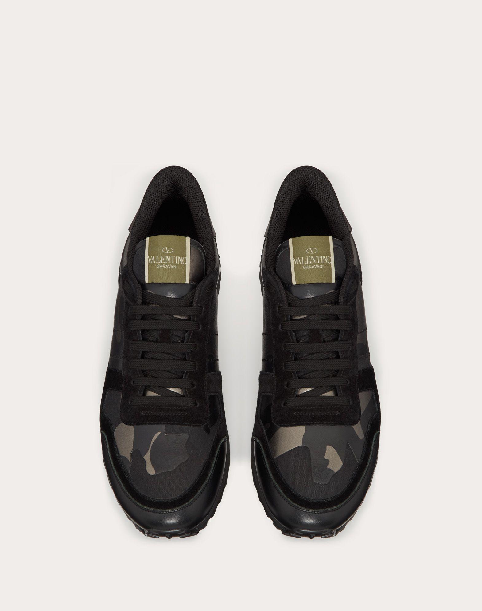 Valentino Garavani Leather Rockrunner