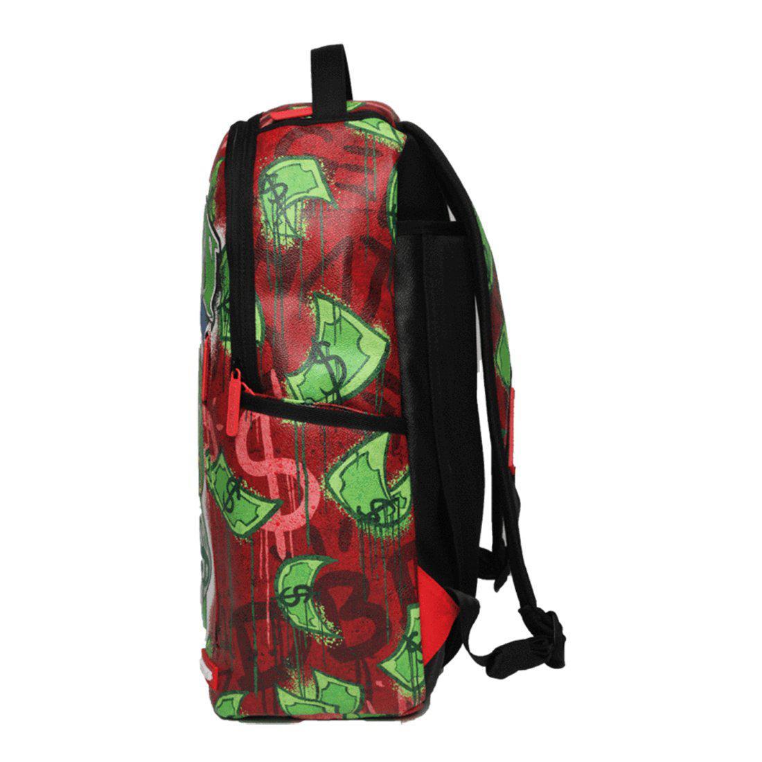 Sprayground Money Bear Raining Money Backpack