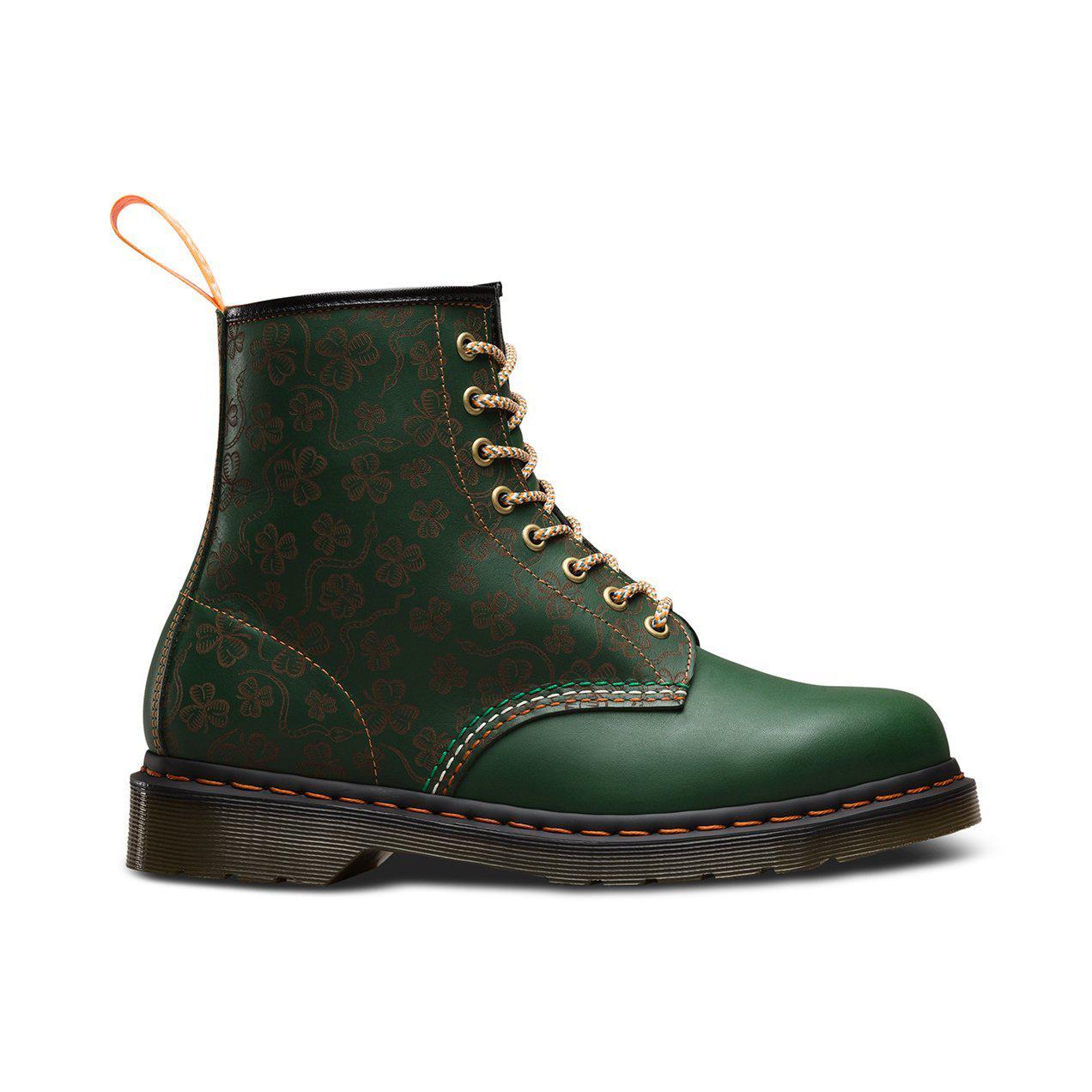 Dr. Martens Leather 1460 Shamrock Lz in