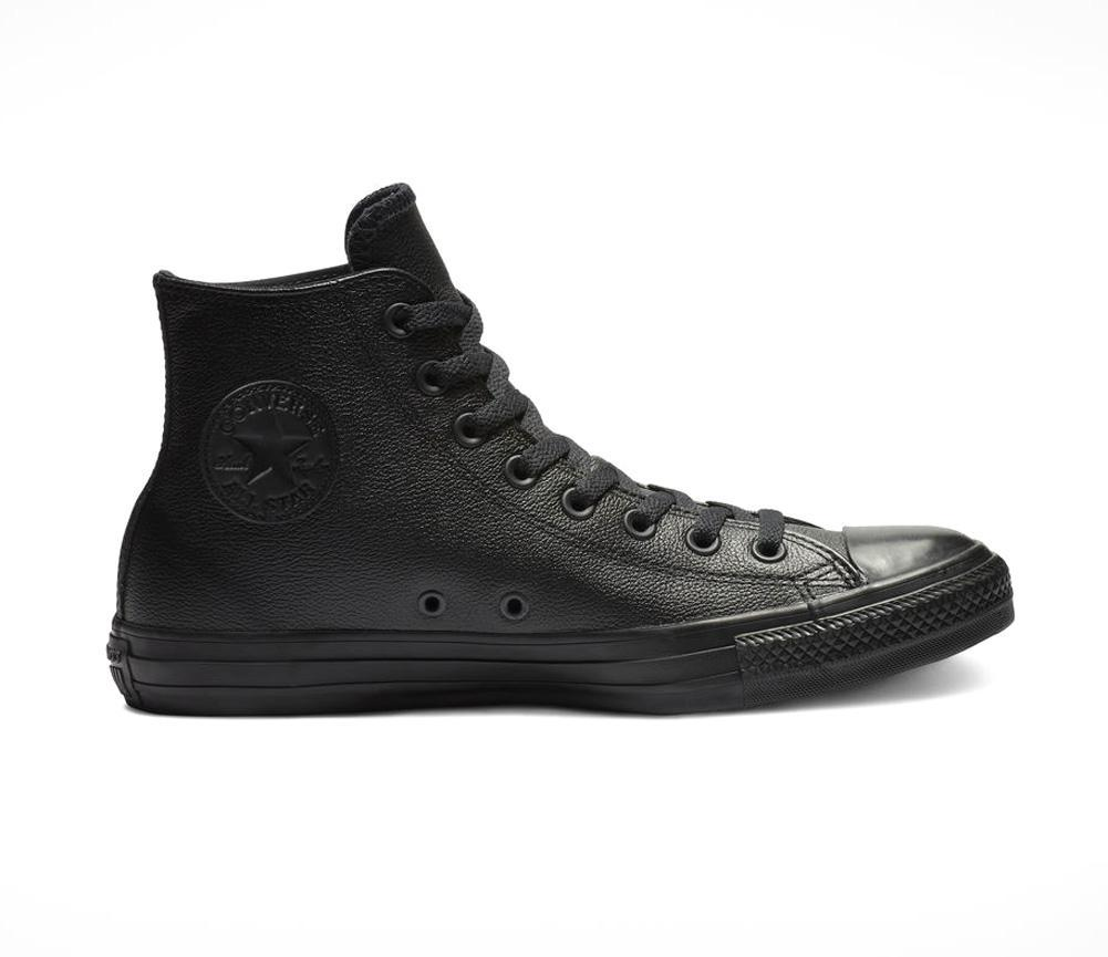 00a6b6dc3f9e Lyst - Converse All Star Leather Hi Unisex in Black for Men