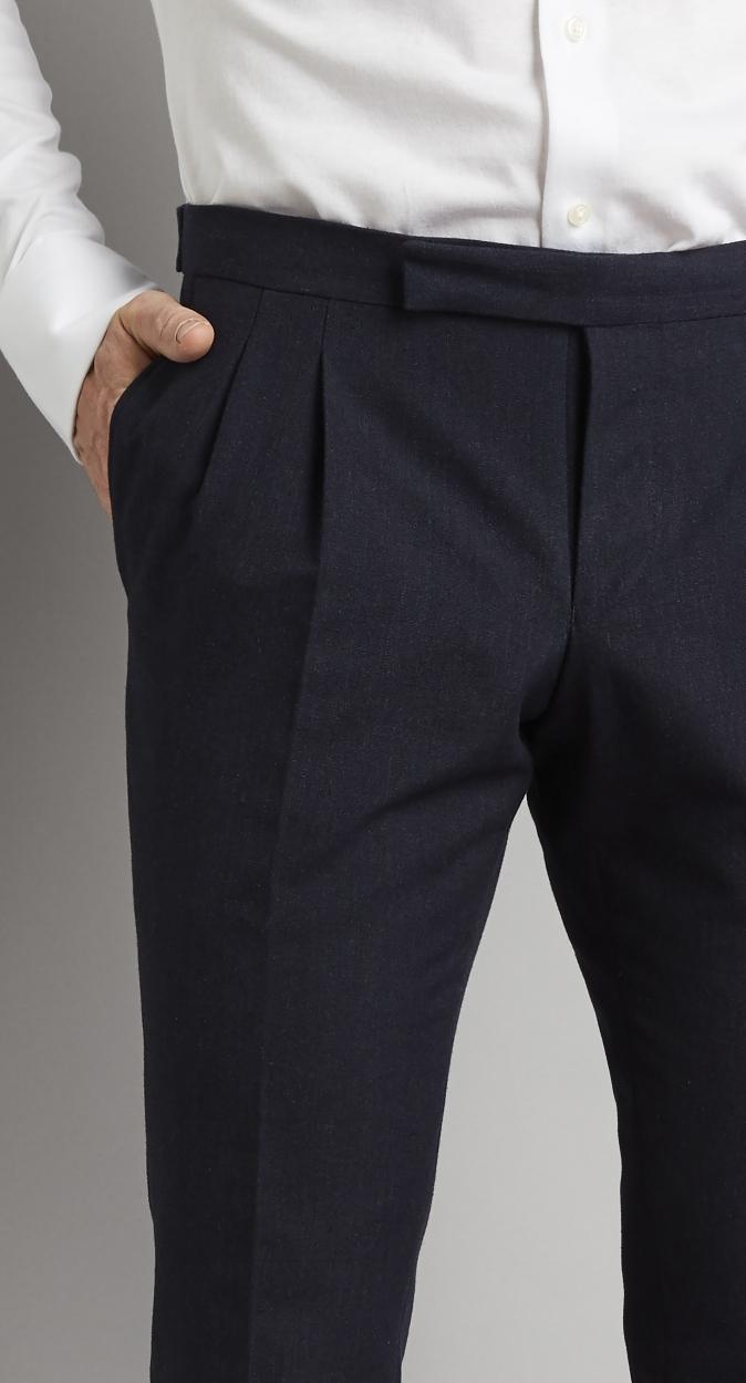 Van Gils Treyspoke Pantalon in het Blauw voor heren