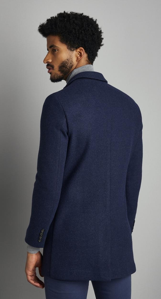 Van Gils Synthetisch Diapan Mantel in het Blauw voor heren