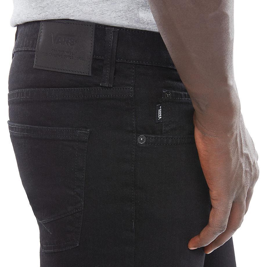 Vans Denim V76 Overdye Black Skinny Jeans voor heren