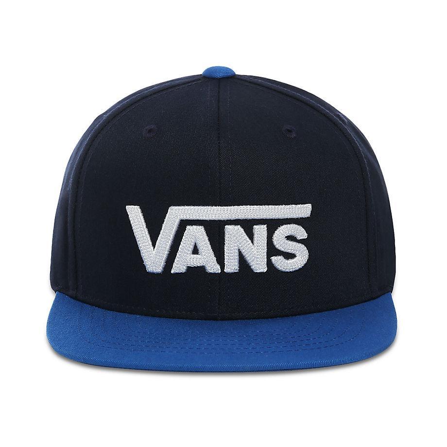 Casquette Junior Drop V Snapback Synthétique Vans en coloris Bleu ...