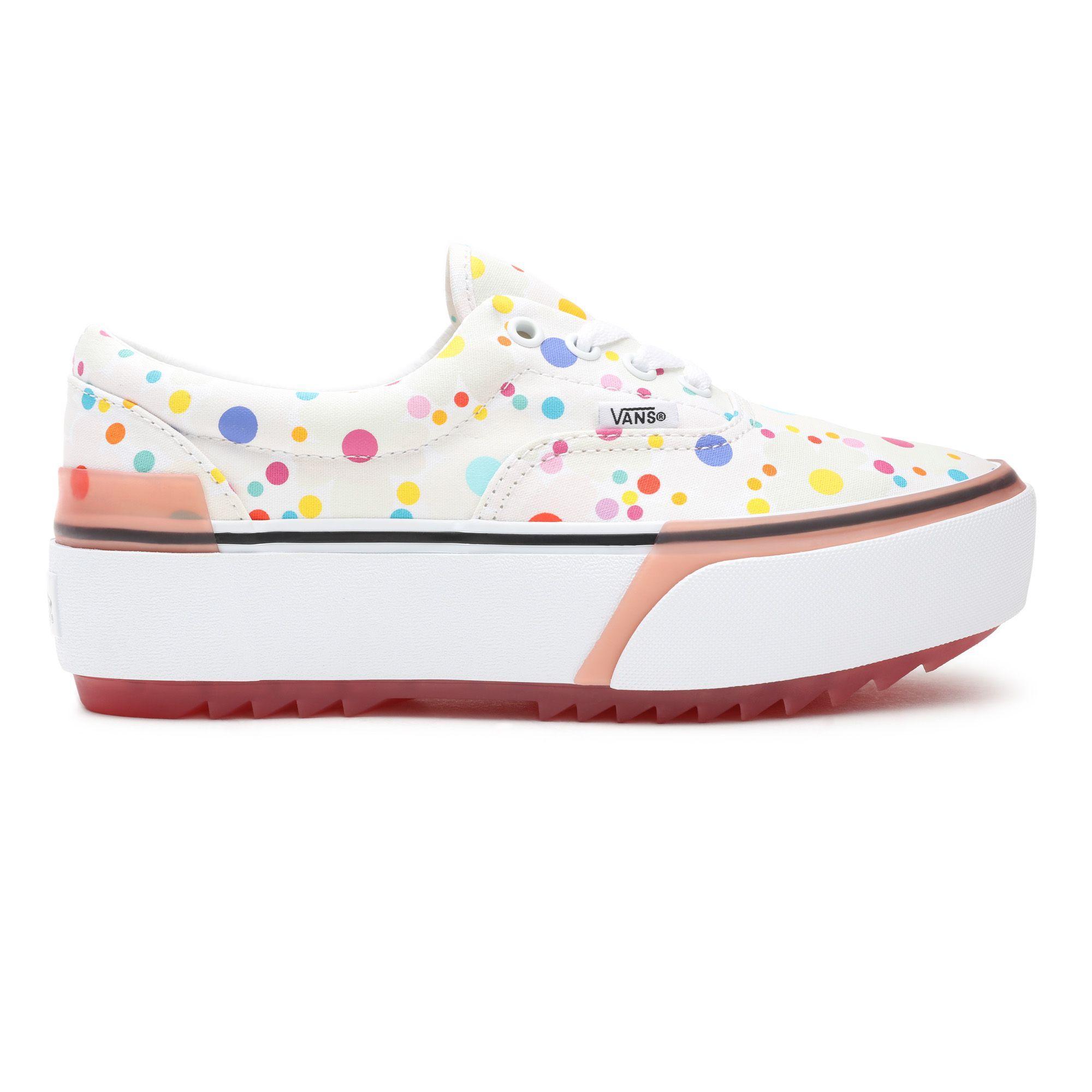Chaussures Uv Ink Era Stacked Toile Vans en coloris Rose - Lyst