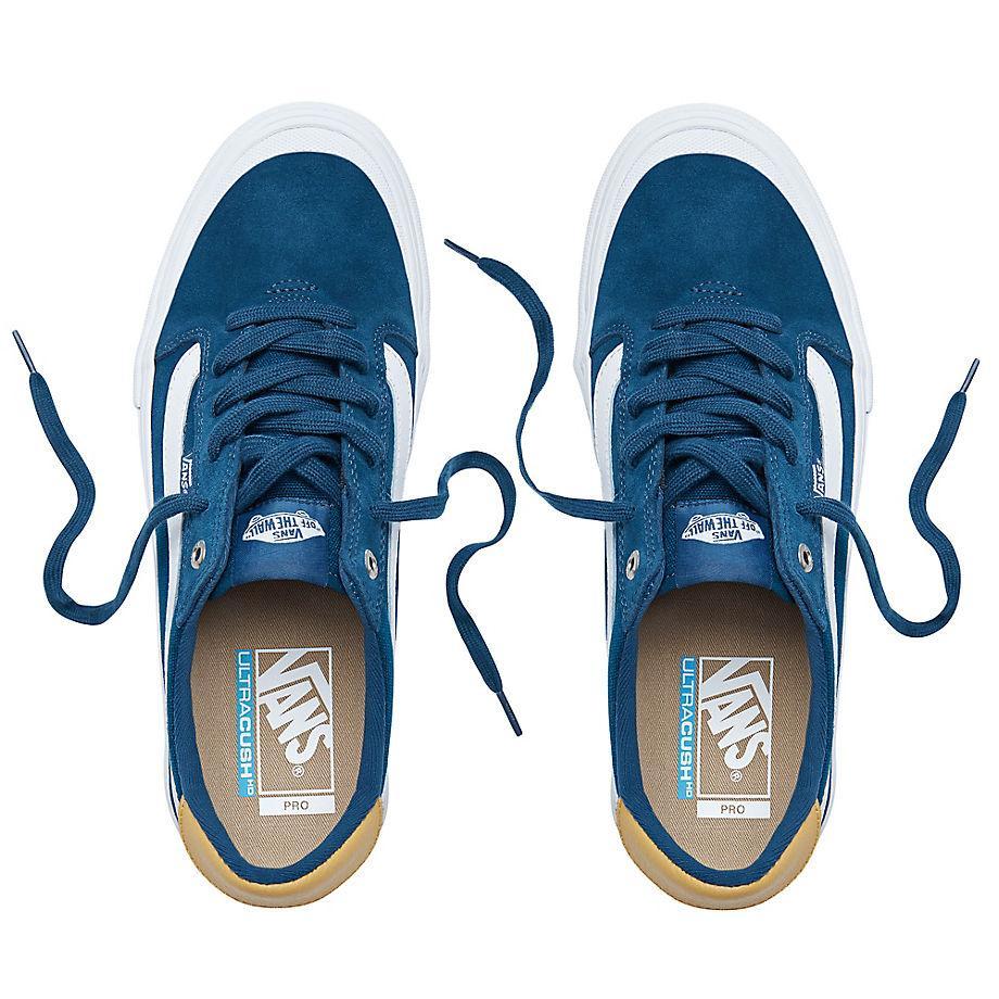Chaussures Style 112 Pro Toile Vans pour homme en coloris Bleu