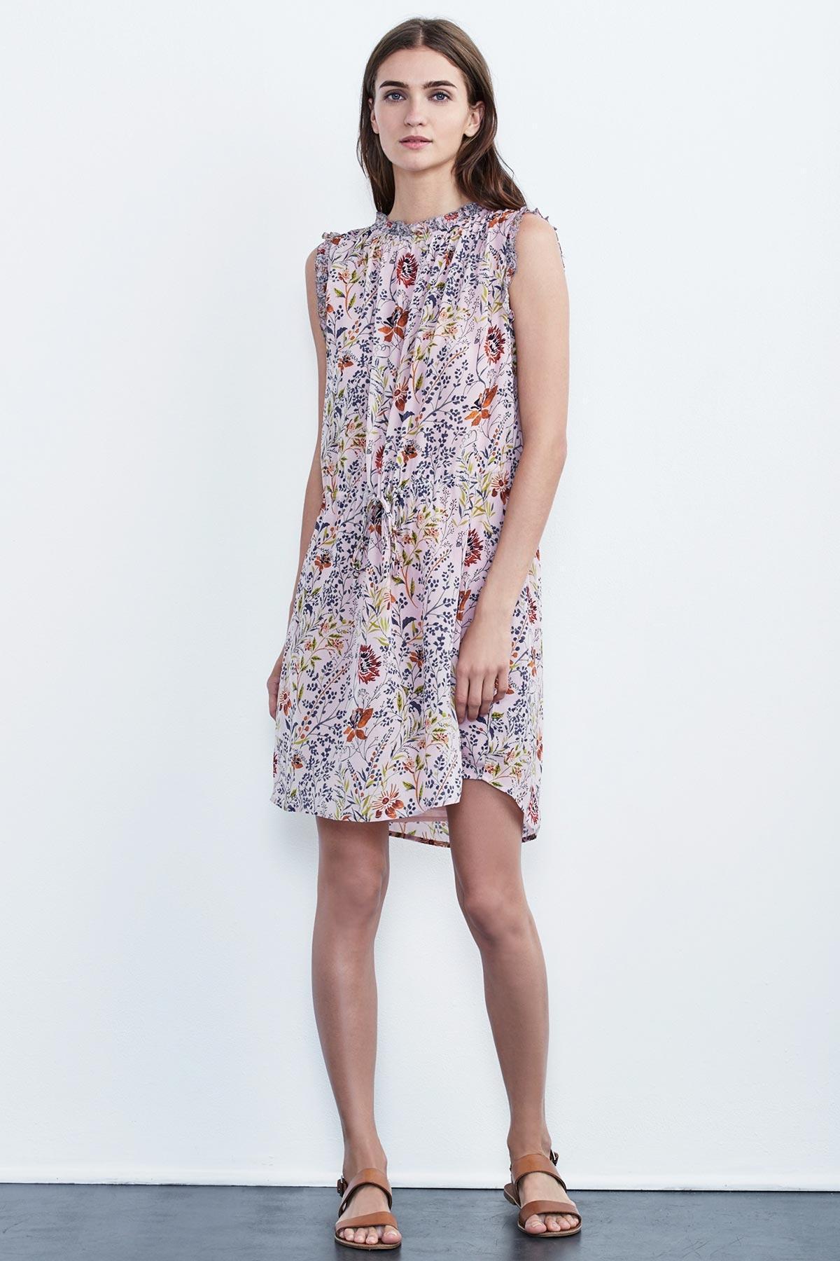 Raelynn printed sleeveless dress Velvet ge8MRx7Ypi