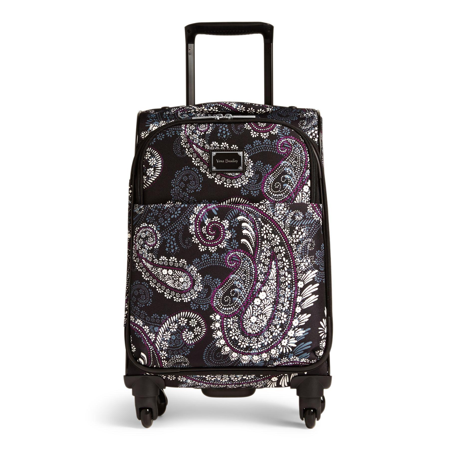 b1590d9be1 Lyst - Vera Bradley Spinner Luggage Set in Black