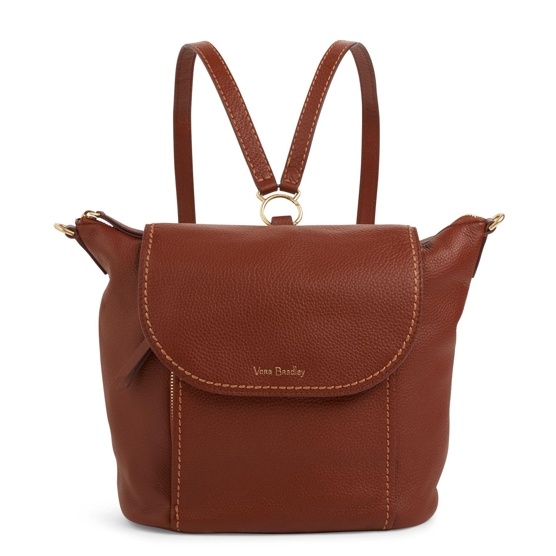 db30132cdc6b Lyst - Vera Bradley Mallory Backpack in Brown