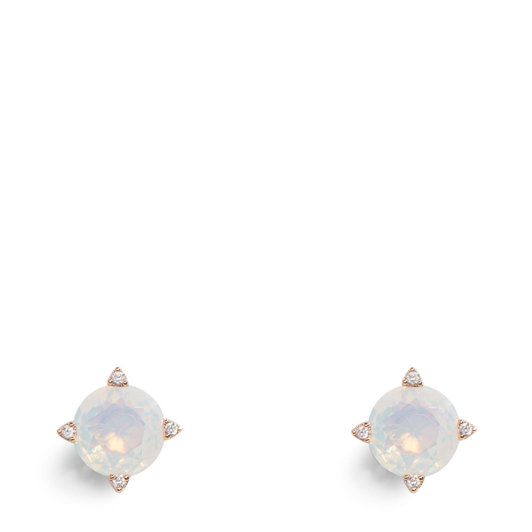 364b35f2451cc Lyst - Vera Bradley Sparkling Stud Earrings