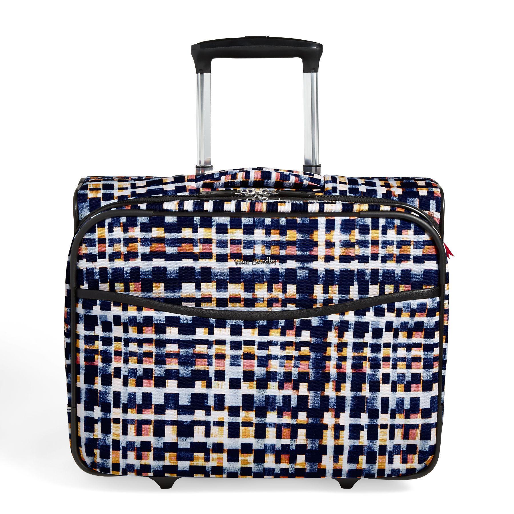 Vera Bradley Women S Iconic Rolling Work Bag