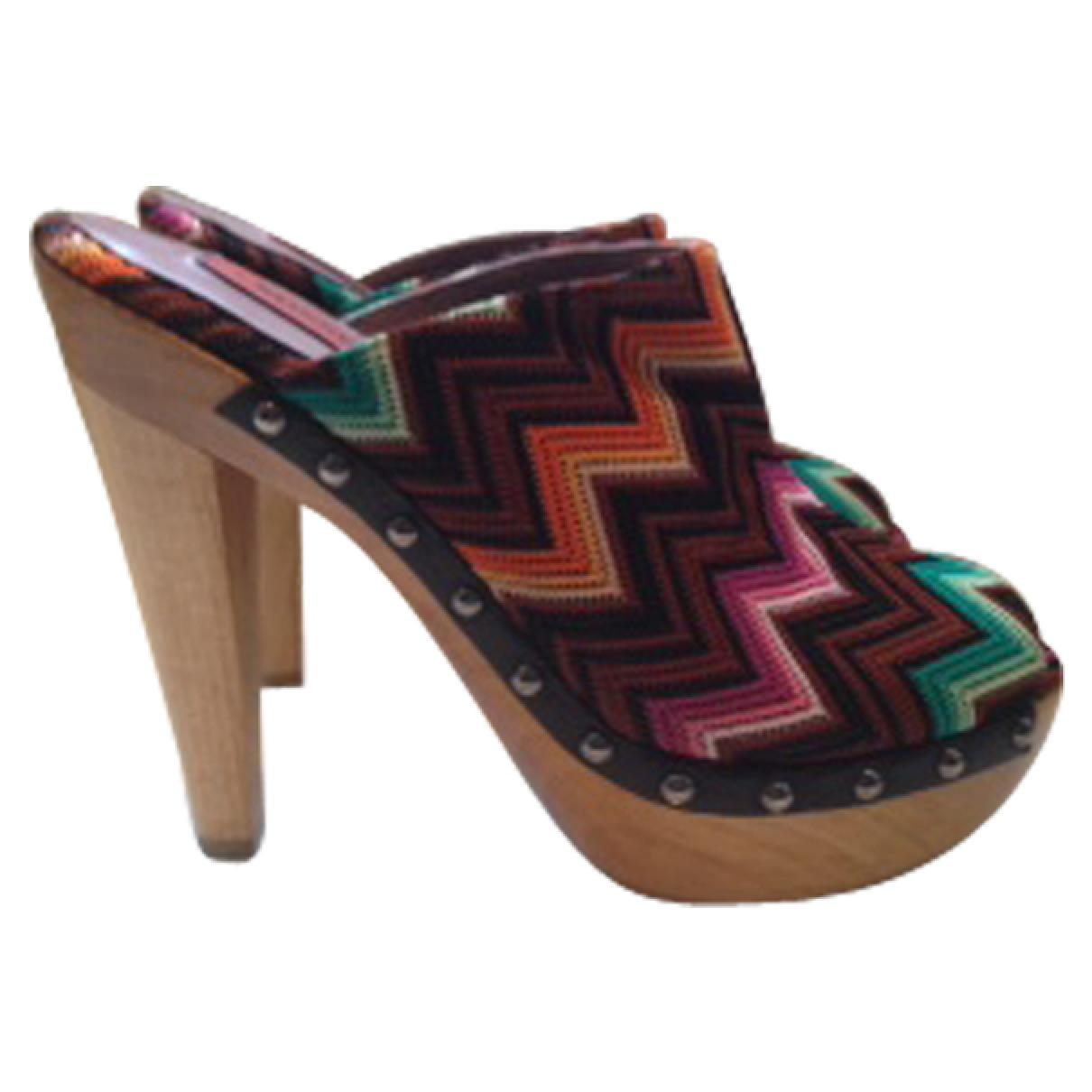 Missoni Leather Mules & Clogs