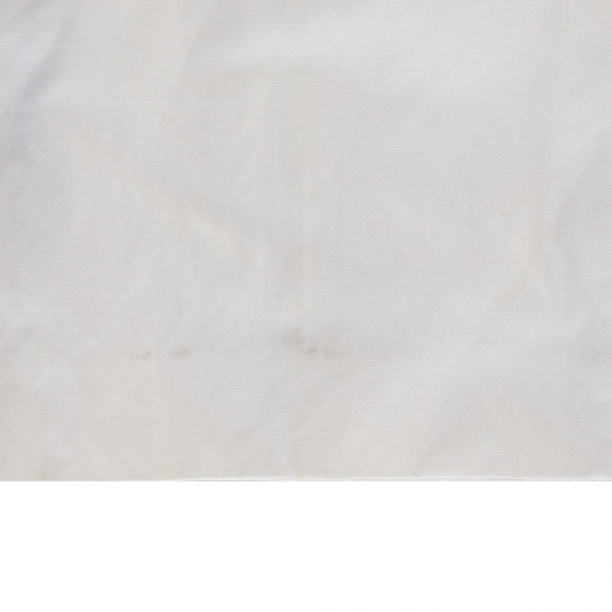 Pantalones en algodón blanco Chloé de color Blanco