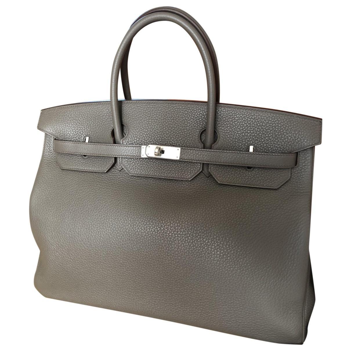 c6b7938791 Hermès. Women s Black Birkin 40 Leather Handbag. £9