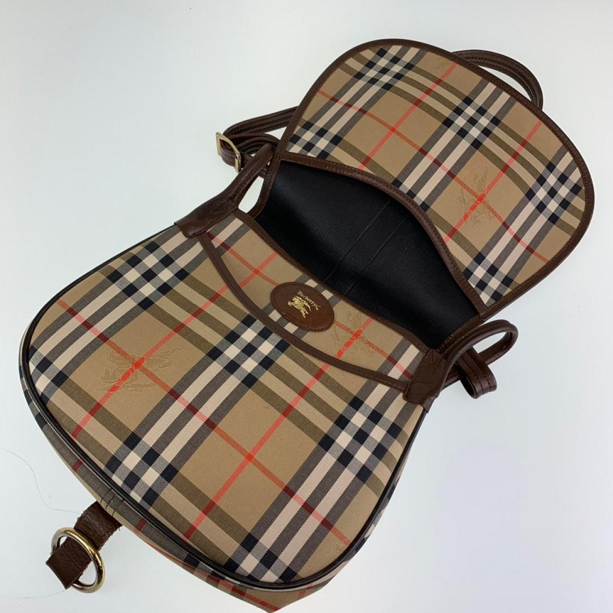 Sac à main en Toile Marron Burberry WcUE