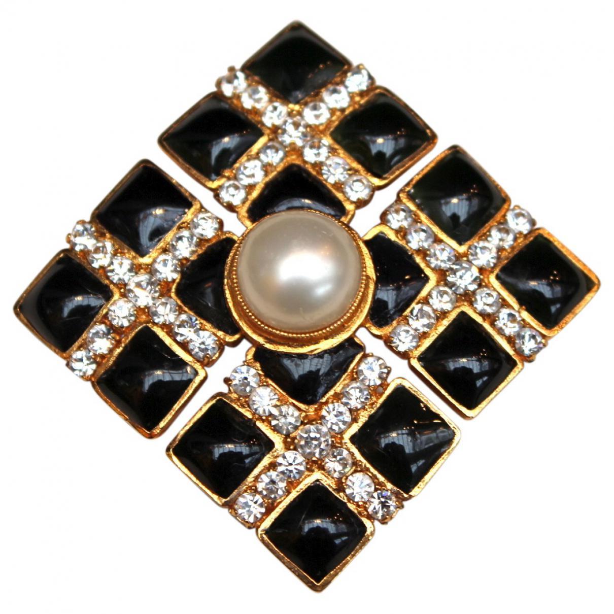 Lyst - Chanel Brooch in Black e55d1f5247e