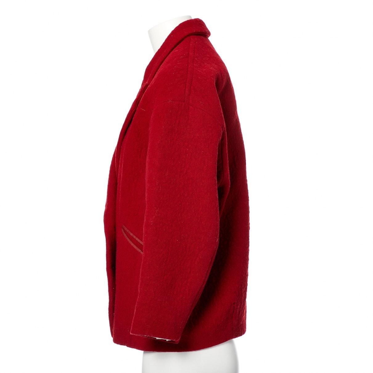 Manteaux Isabel Marant en coloris Rouge 5j5Ft