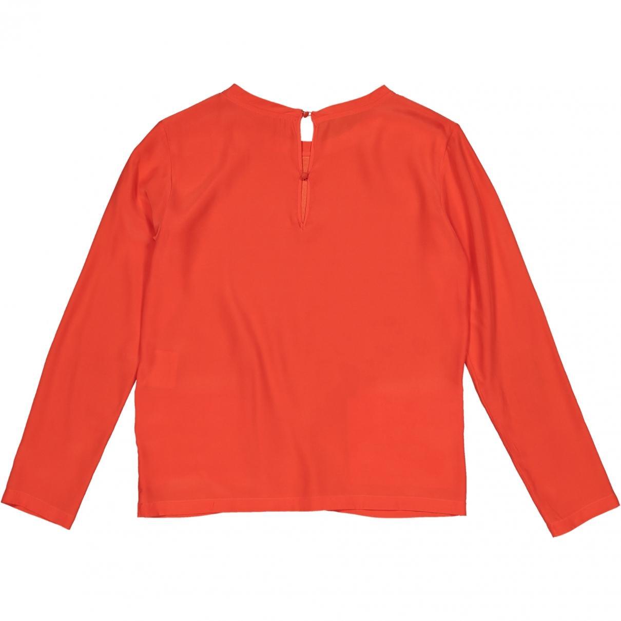 Blusa de Seda Golden Goose Deluxe Brand de Seda de color Naranja