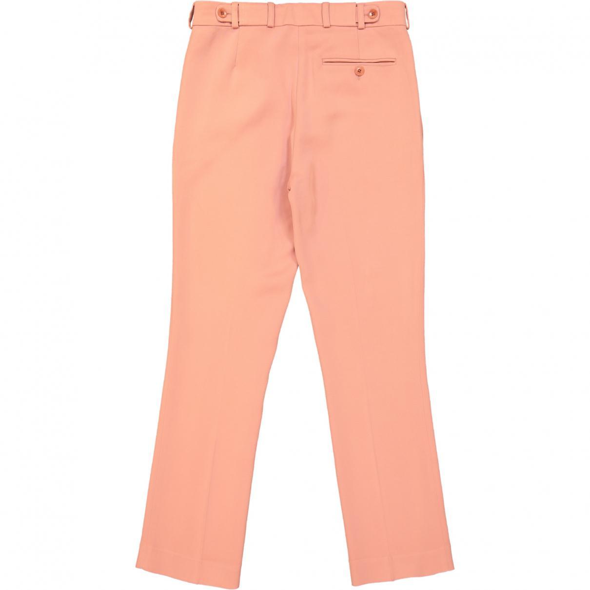 Pantalon de tailleur Synthétique Etro en coloris Rose