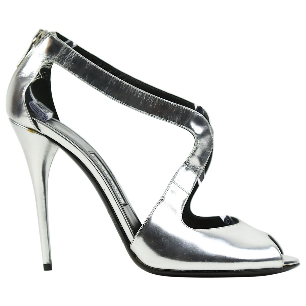 Pre-owned - Leather heels Balmain Clearance Great Deals tkPSU