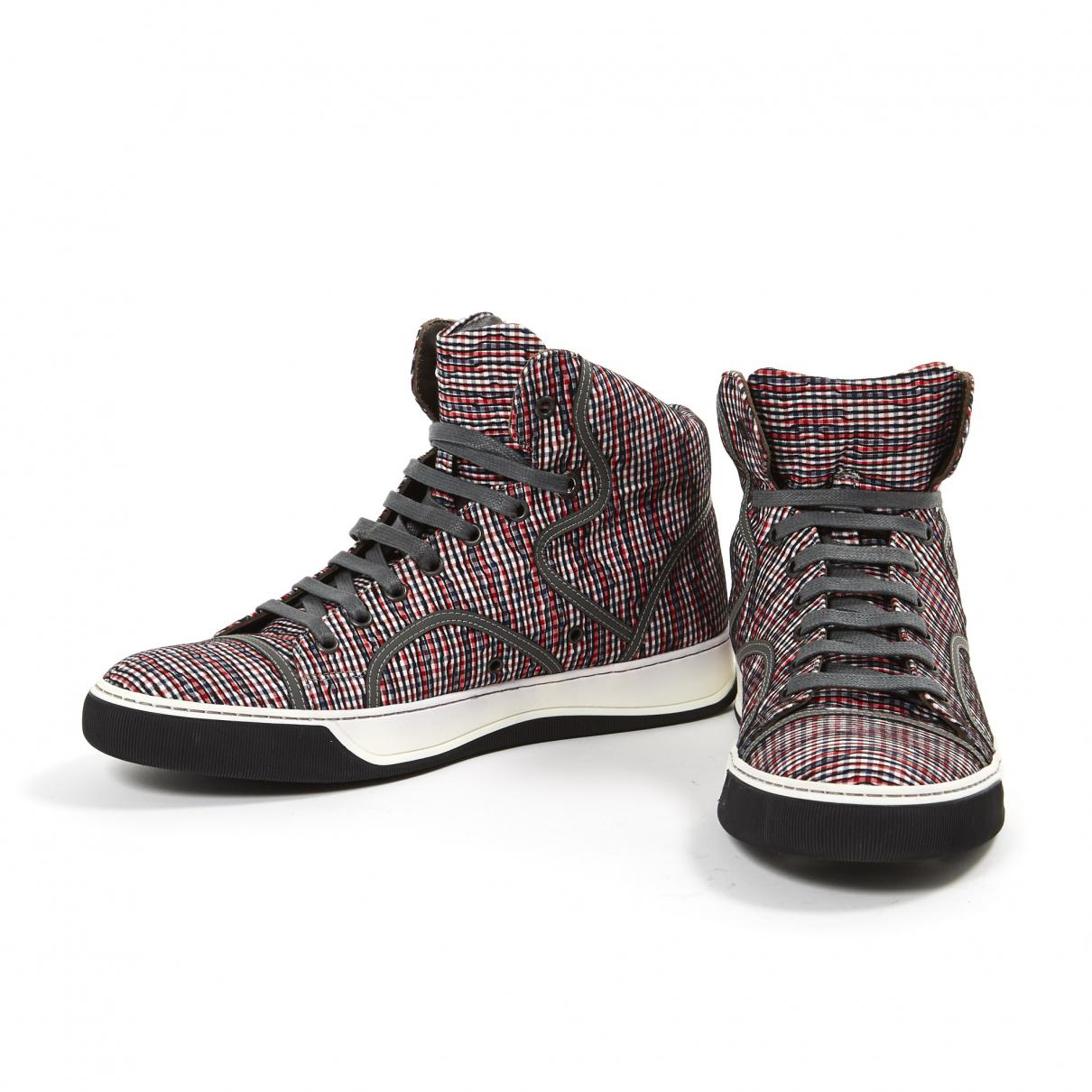 Pre-owned - Cloth high trainers Lanvin 2waKBkrTZT