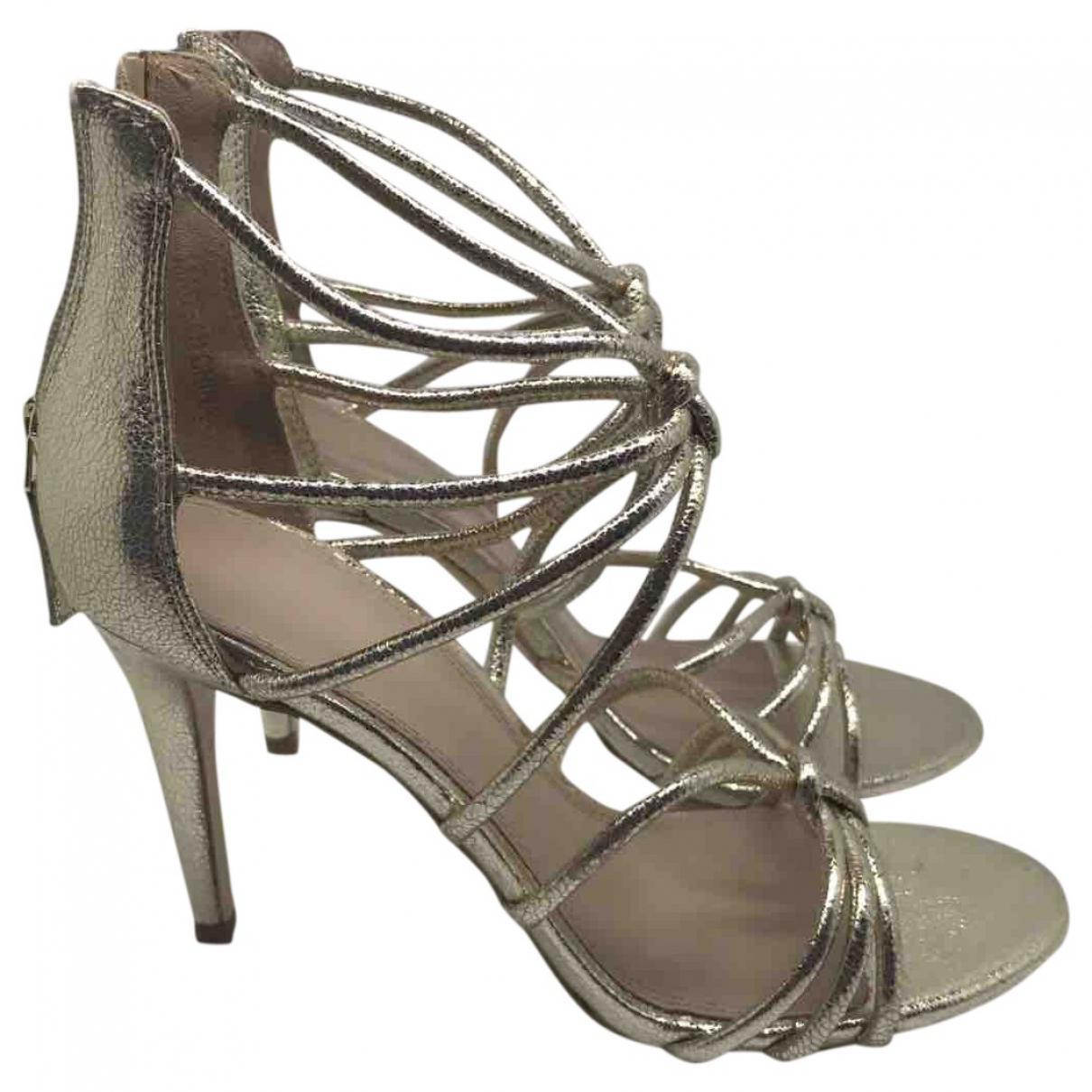Pre-owned - Leather sandals Sandro NREAf42IG