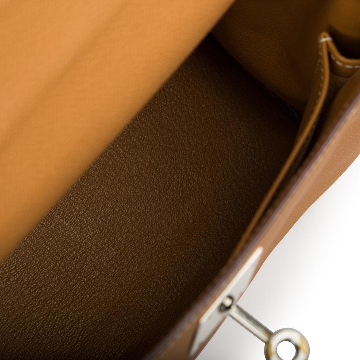 Sacs à main Kelly 28 Hermès en coloris Marron M3yg