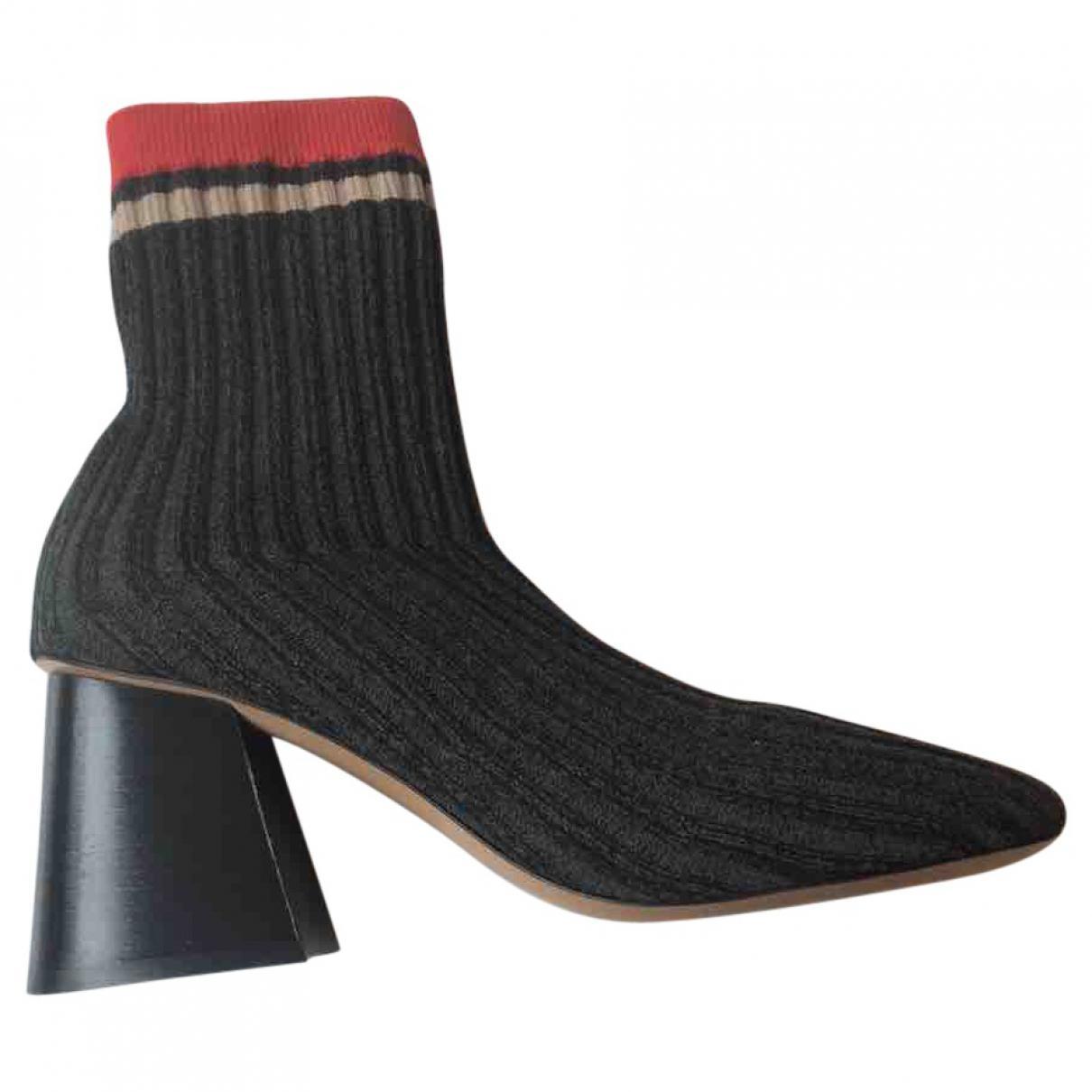 Céline Cloth Ankle Boots Ixy2AGUH