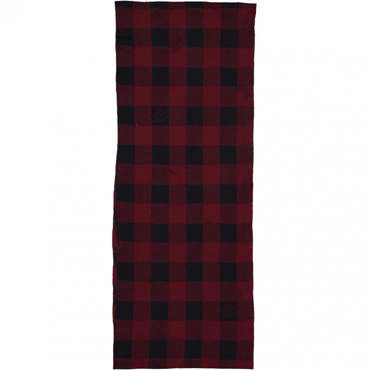 84e03caeb461 Lyst - Echarpe en laine Louis Vuitton pour homme