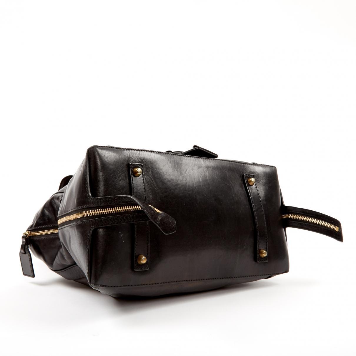 Chloé Leder Leder handtaschen in Schwarz z5xDv