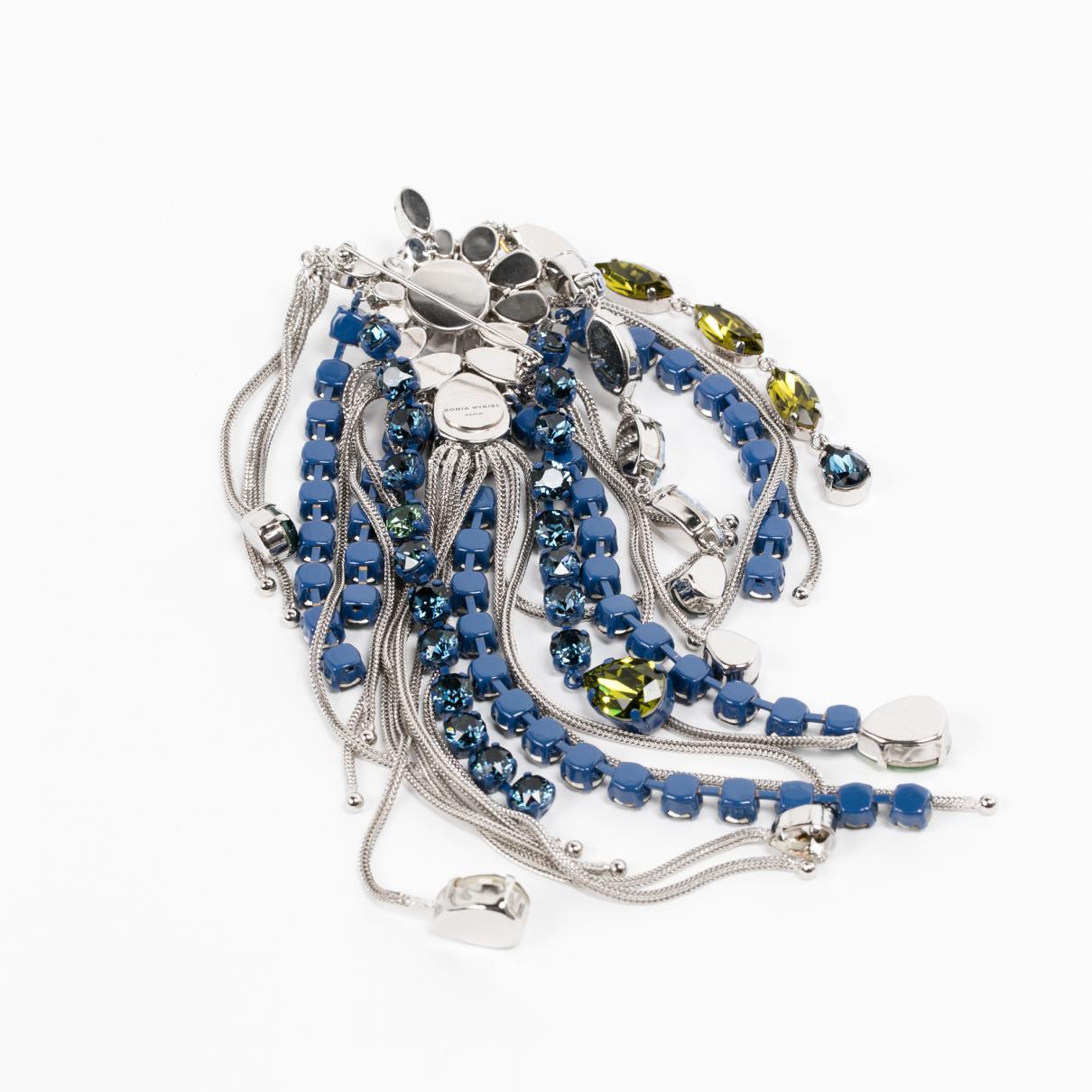 Sonia Rykiel Blue Metal Pins & Brooches