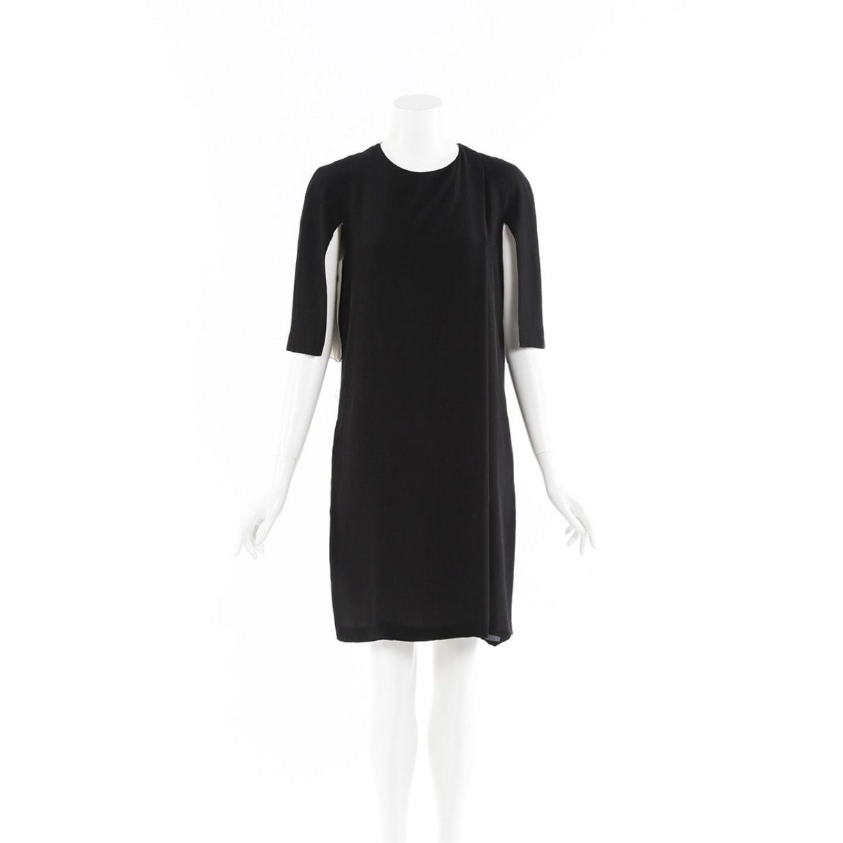 Vestido en sintético negro Celine de Tejido sintético de color Negro