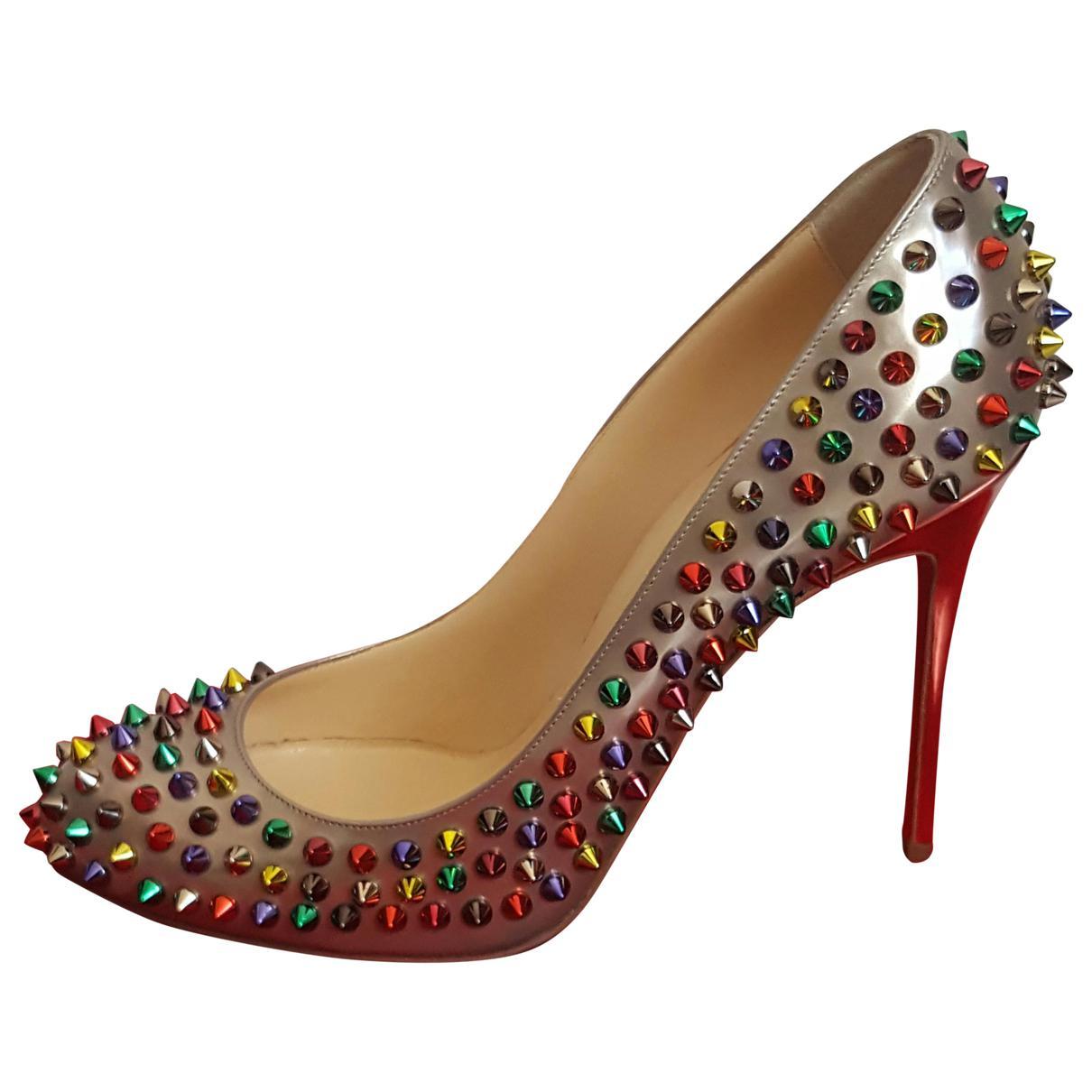 Pre-owned - Spike heels Christian Louboutin IqZaT