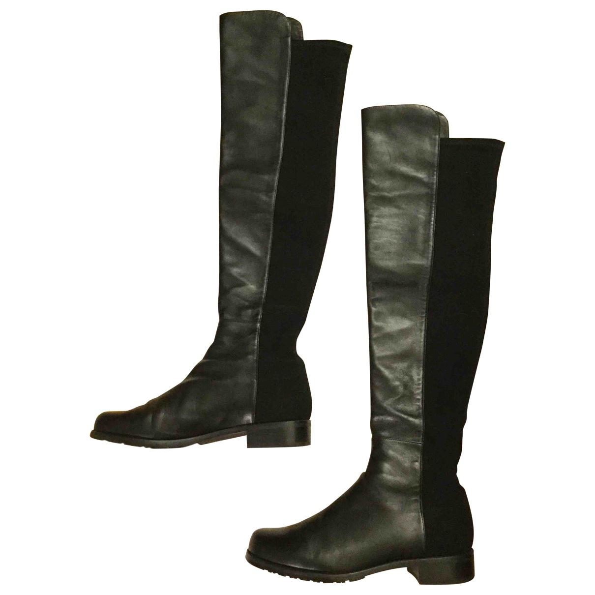 Pre-owned - LEATHER BOOTS Stuart Weitzman Lowest Price Outlet Brand New Unisex Cheap Affordable 0hR06PL
