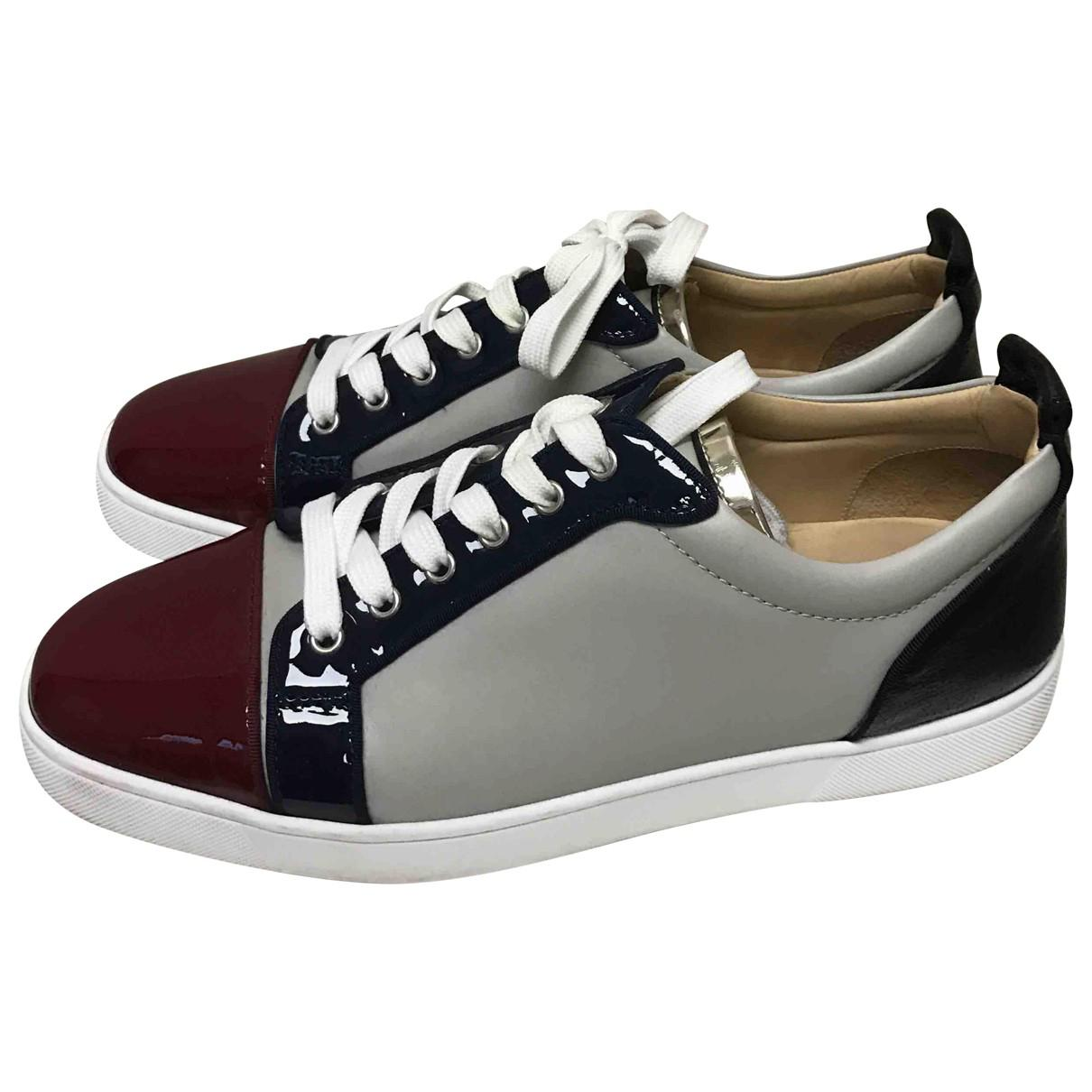 Pre-owned - Leather low trainers Christian Louboutin A4cj2sjkf